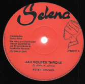Peter Broggs - Jah Golden Throne / Dexter McKintyre - 144,000 Saints (Selena / Jah Fingers) 12""